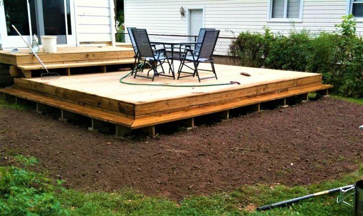 10 beautiful diy backyard decks rebuilt diy deck solutioingenieria Image collections