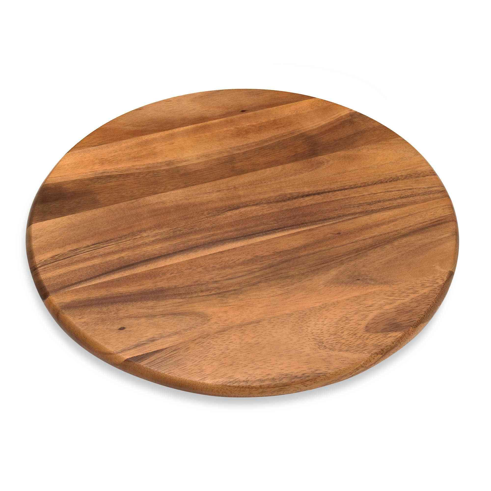 Lipper International 18-Inch Acacia Wood Lazy Susan