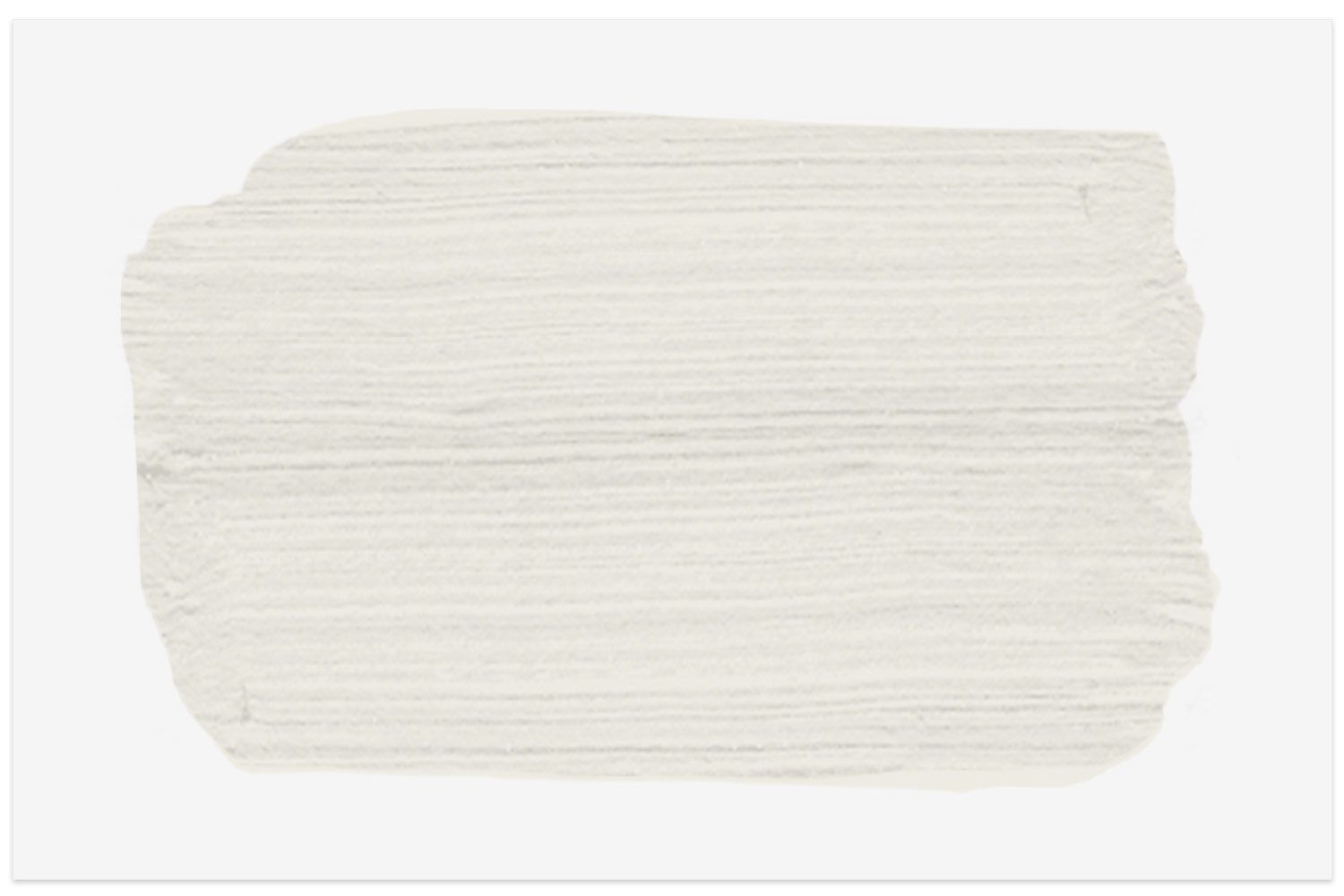 Silky White PPU7-12 paint swatch from Behr