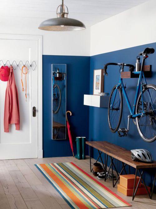 Usar espacio en la pared
