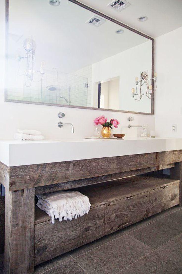 12 Rustic Bathrooms You\'ll Adore