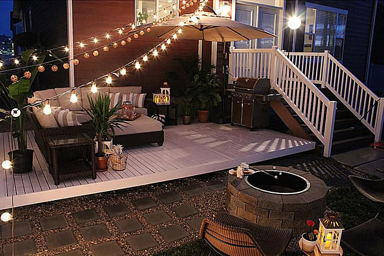 DIY Budget Wood Deck
