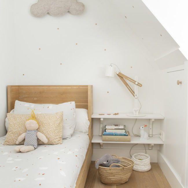 Scandinavian style, minimilist kid's room