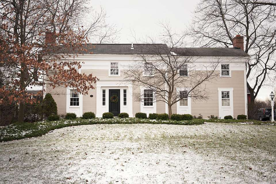 Front of Home During Winter