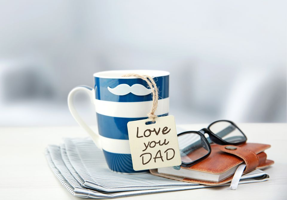 Father's day concept objects.