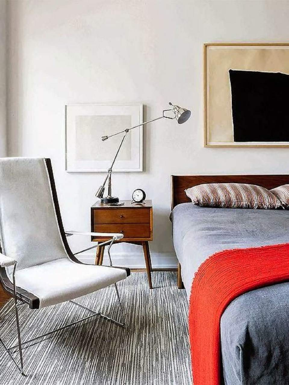 Admirable Mid Century Modern Bedroom Decorating Ideas Inzonedesignstudio Interior Chair Design Inzonedesignstudiocom