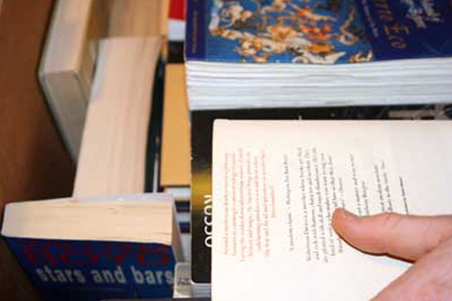 Books Packed in Box