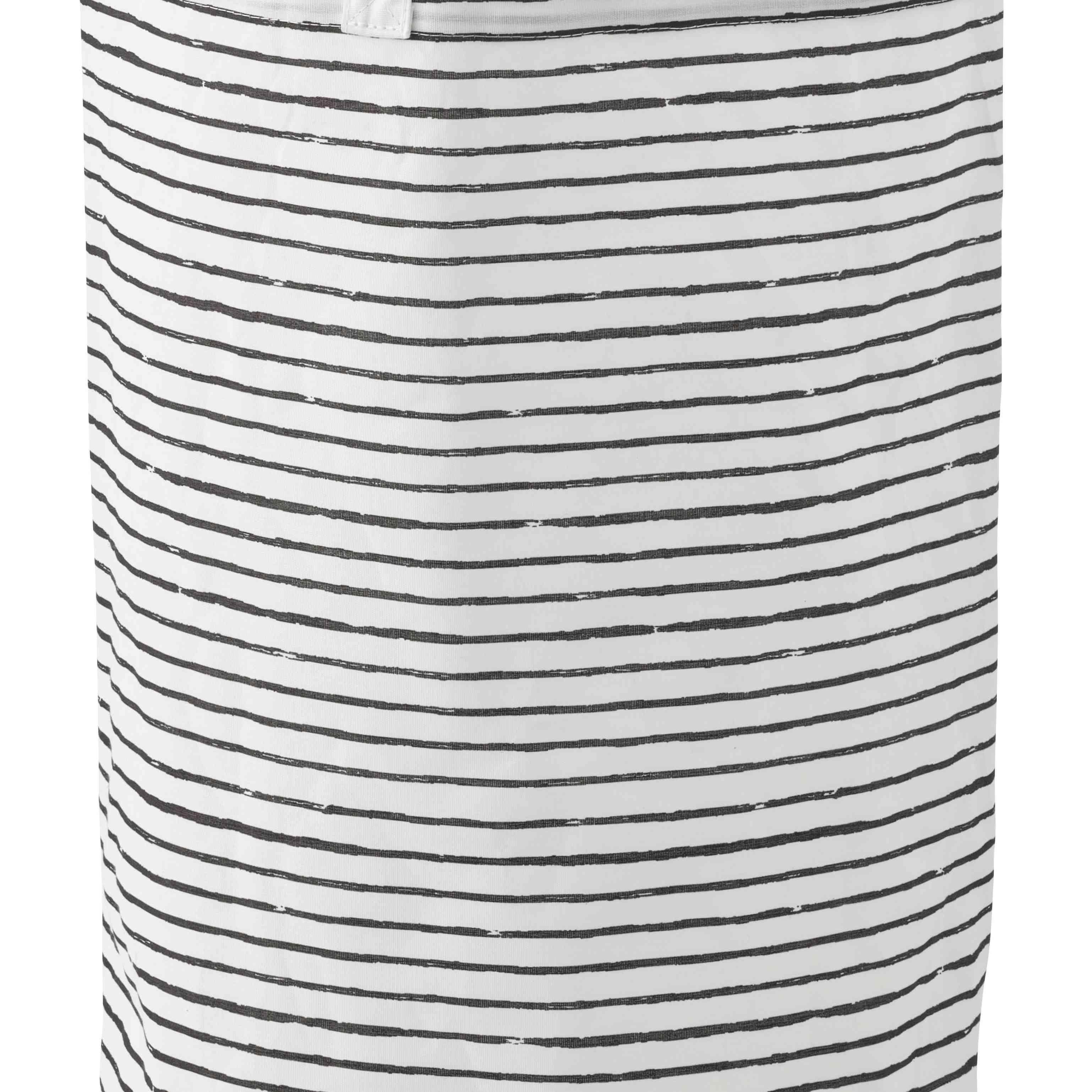 IKEA KLUNKA Laundry Bag, White/Black 16 Gallon