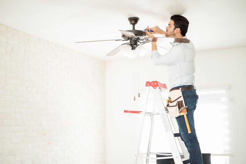 Fixing Ceiling Fan