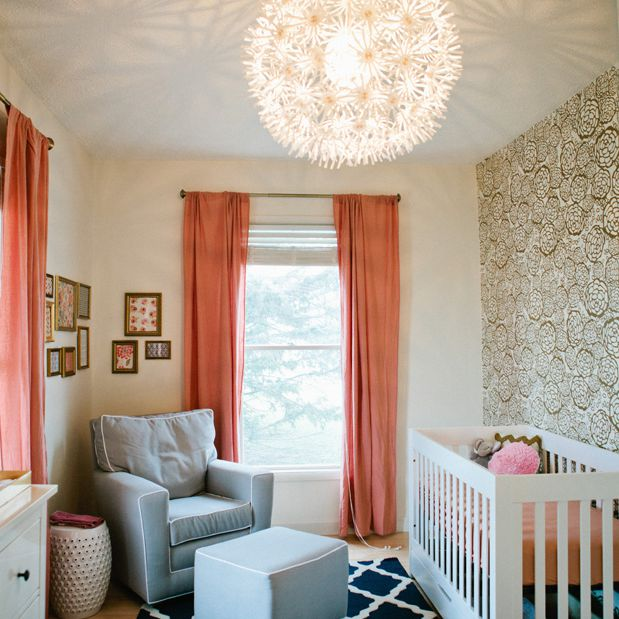 Navy and coral nursery