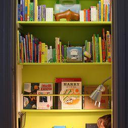 Tall book nook