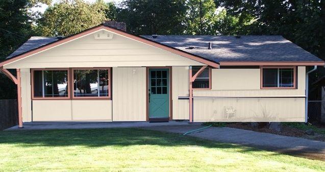 Esquemas de pintura exterior - Casa de campo