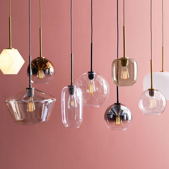 West Elm Build Your Own Sculptural Glass Pendant