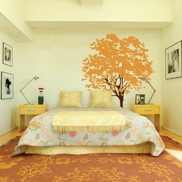 Large wall decal of a tree