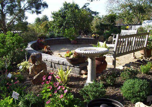 terrace-like patio