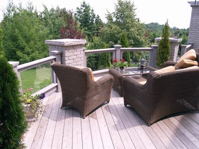 Picture of deck furniture.