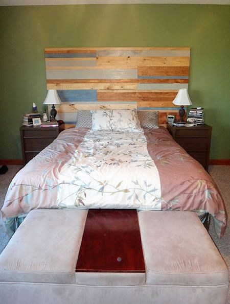 Beautiful Bedrooms With Wooden Headboards