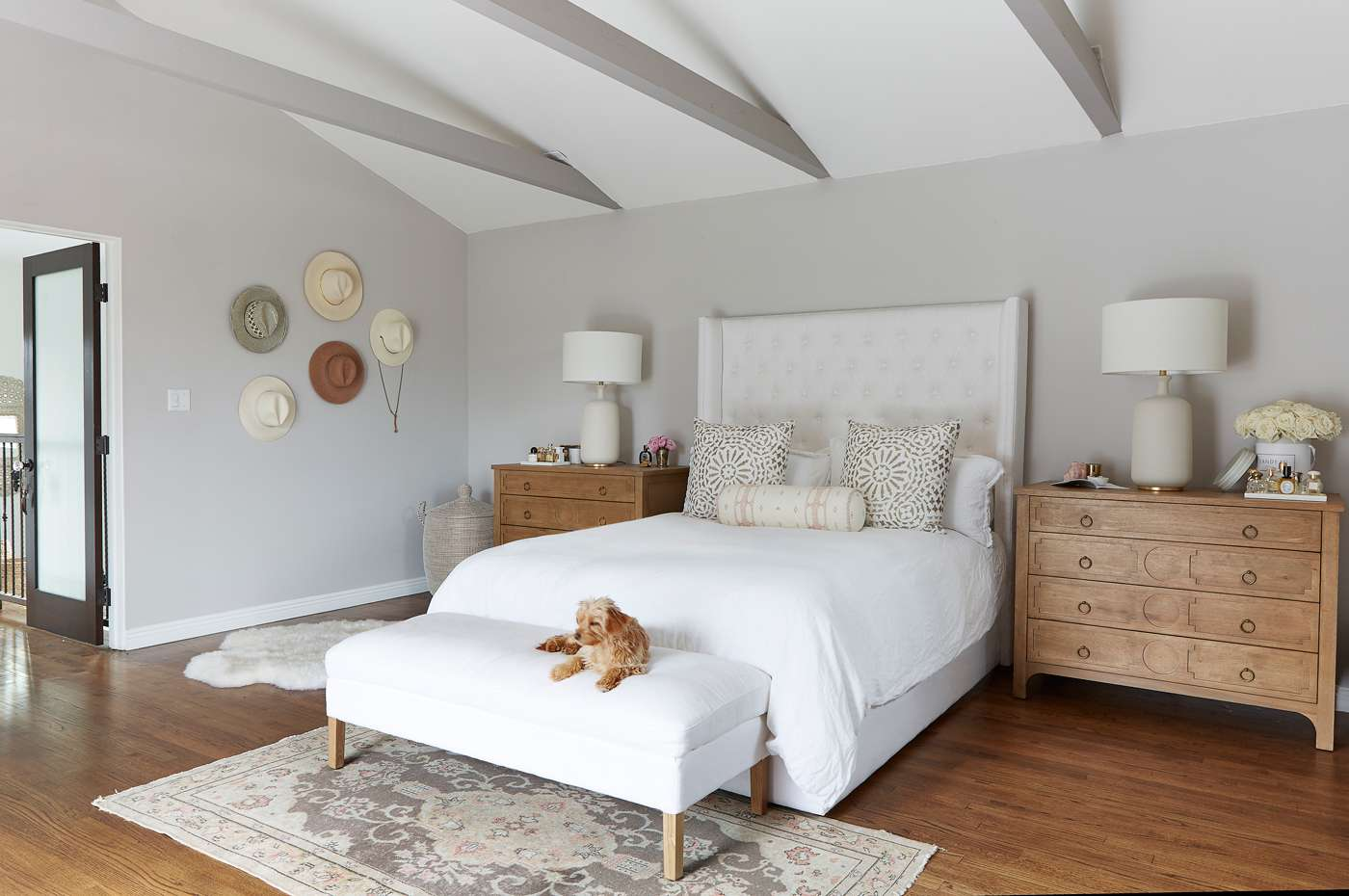 Kat Jamieson bedroom