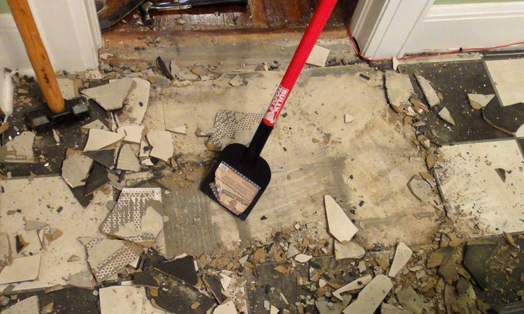 Removing Ceramic Tile >> Tile Removal Tools for Ceramic Floors
