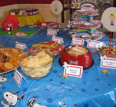 How Plan And Throw A Snoopy Themed Party
