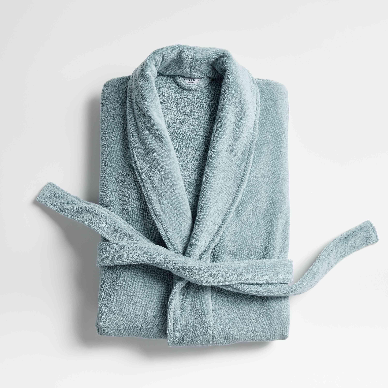 Ocean Classic Bath Robe from Parachute x Crate & Barrel Collab