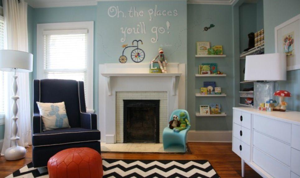 Storybook-Themed Nursery