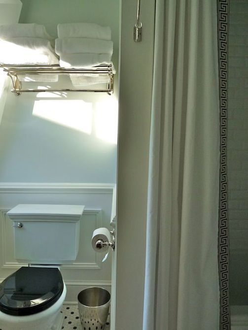 Bricolaje cortina de baño