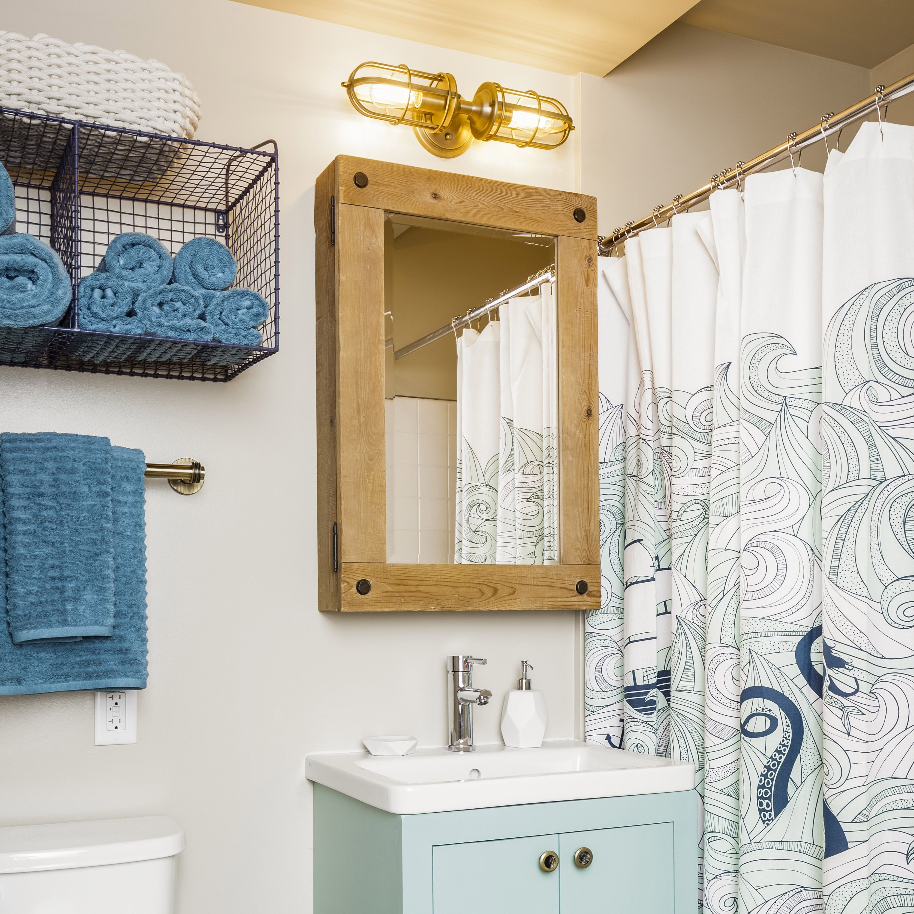 Nautical Bathroom Ideas, Nautical Pictures For Bathrooms