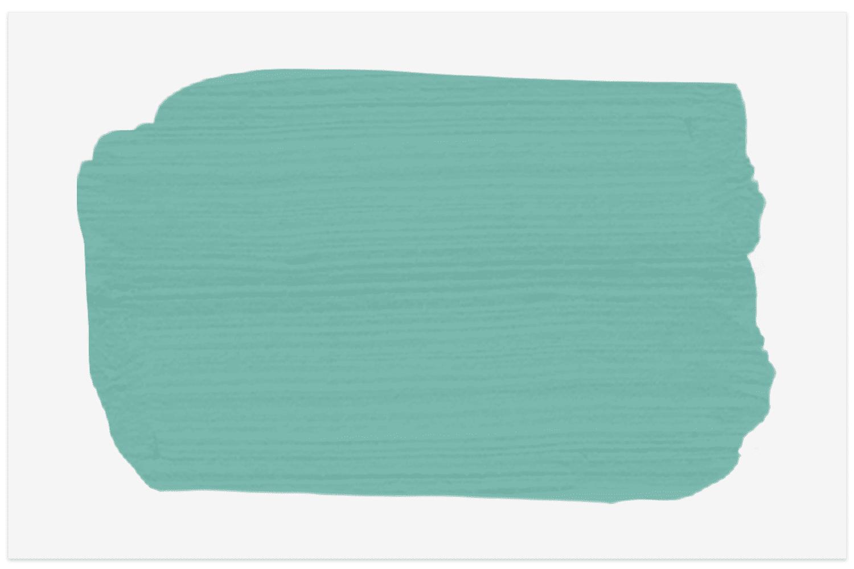 Glidden Capri Teal paint swatch