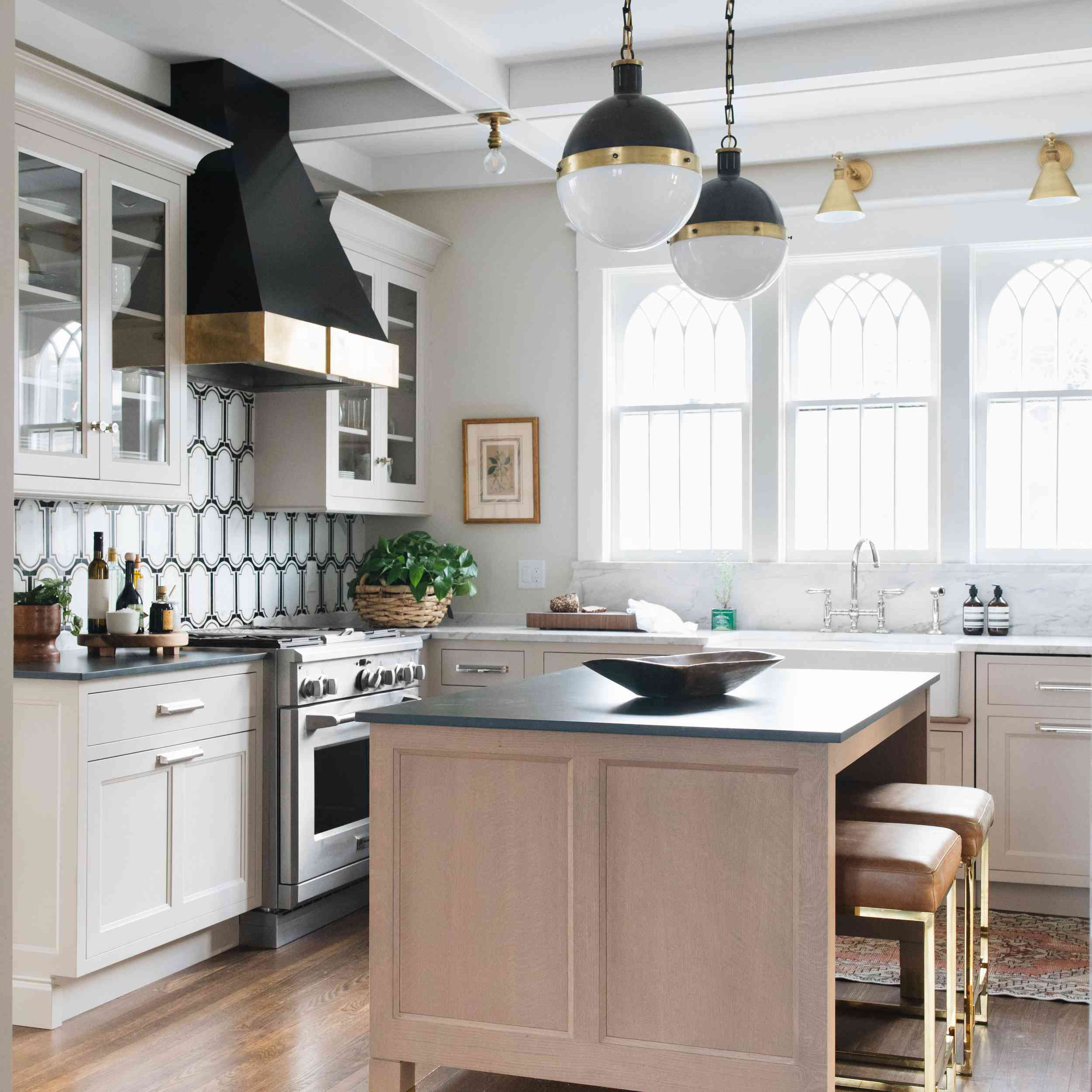 limestone and marble countertops