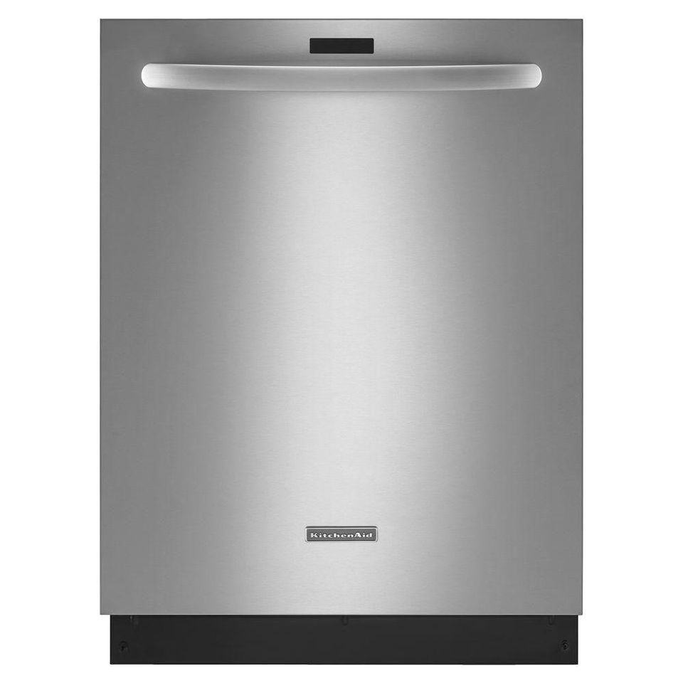 Kitchenaid Architect Series Ii Top Control Dishwasher In Stainless Steel With Tub Ultra