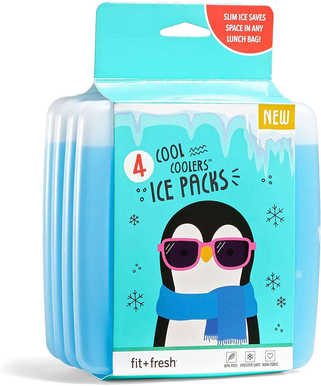 Fit & Fresh Cool Coolers Slim Ice Packs