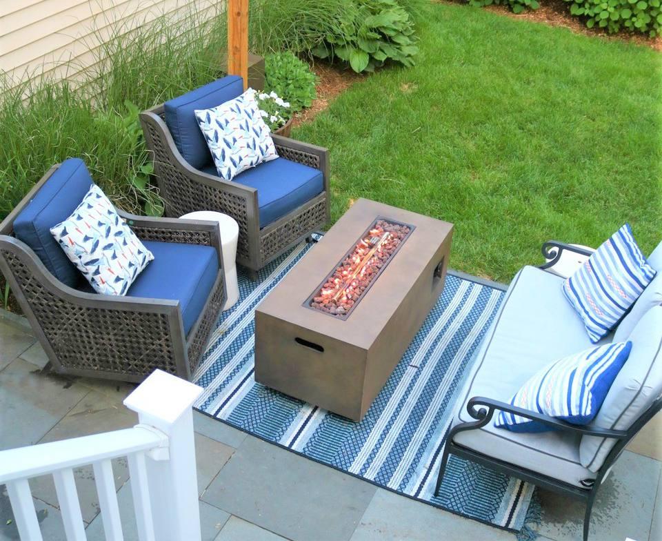 10 Creative and Inexpensive DIY Patios on Diy Backyard Patio Cheap id=54847