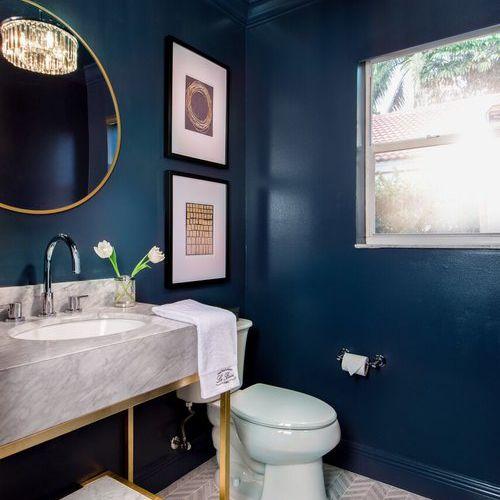 10 Pretty Powder Room Decorating Ideas