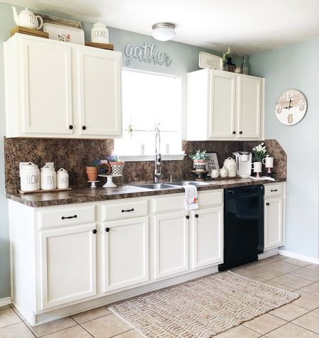 How To Decorate Top Of Kitchen Cabinets 9 Ways to Decorate Above Your Kitchen Cabinets