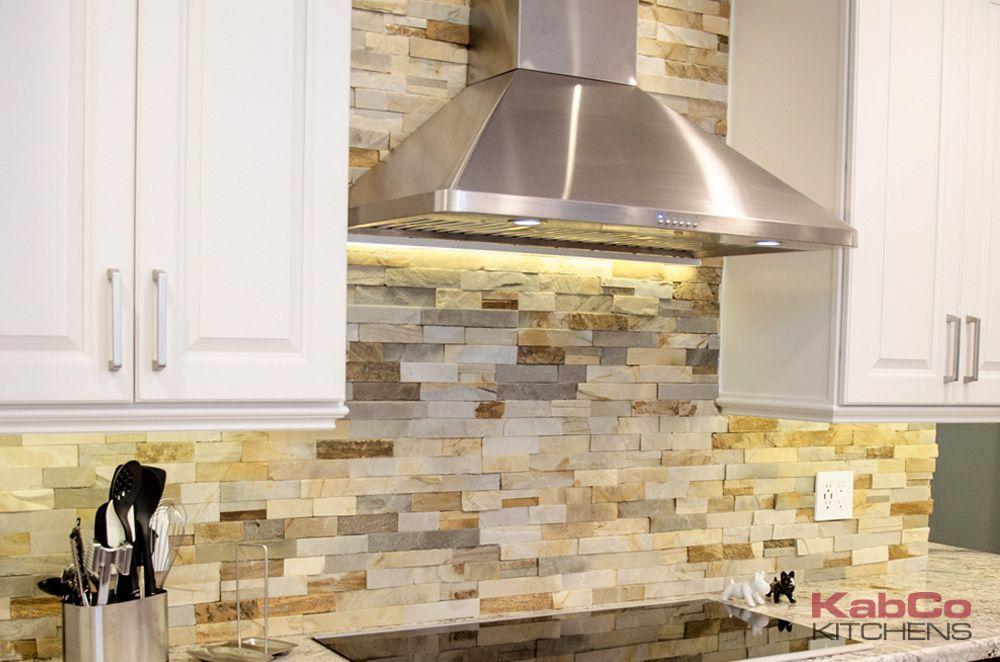 Stacked Stone Backsplashes For Kitchens