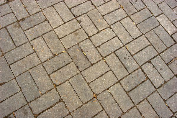 two brick basket weave flooring