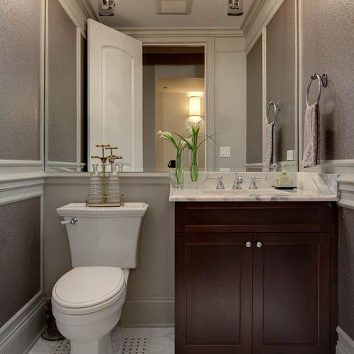 13 Beautiful Mirrored Bathrooms, Large Wall Mirrors For Bathroom