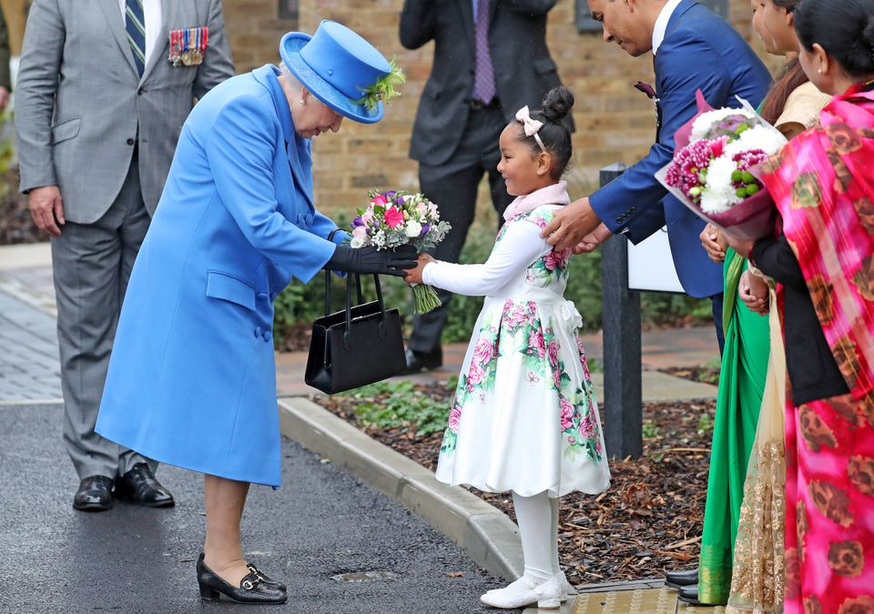 The Queen Visits Haig Housing Trust