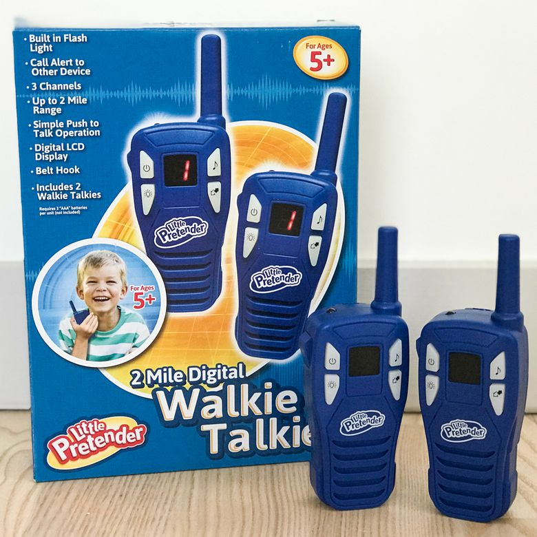 Little Pretender Walkie Talkies