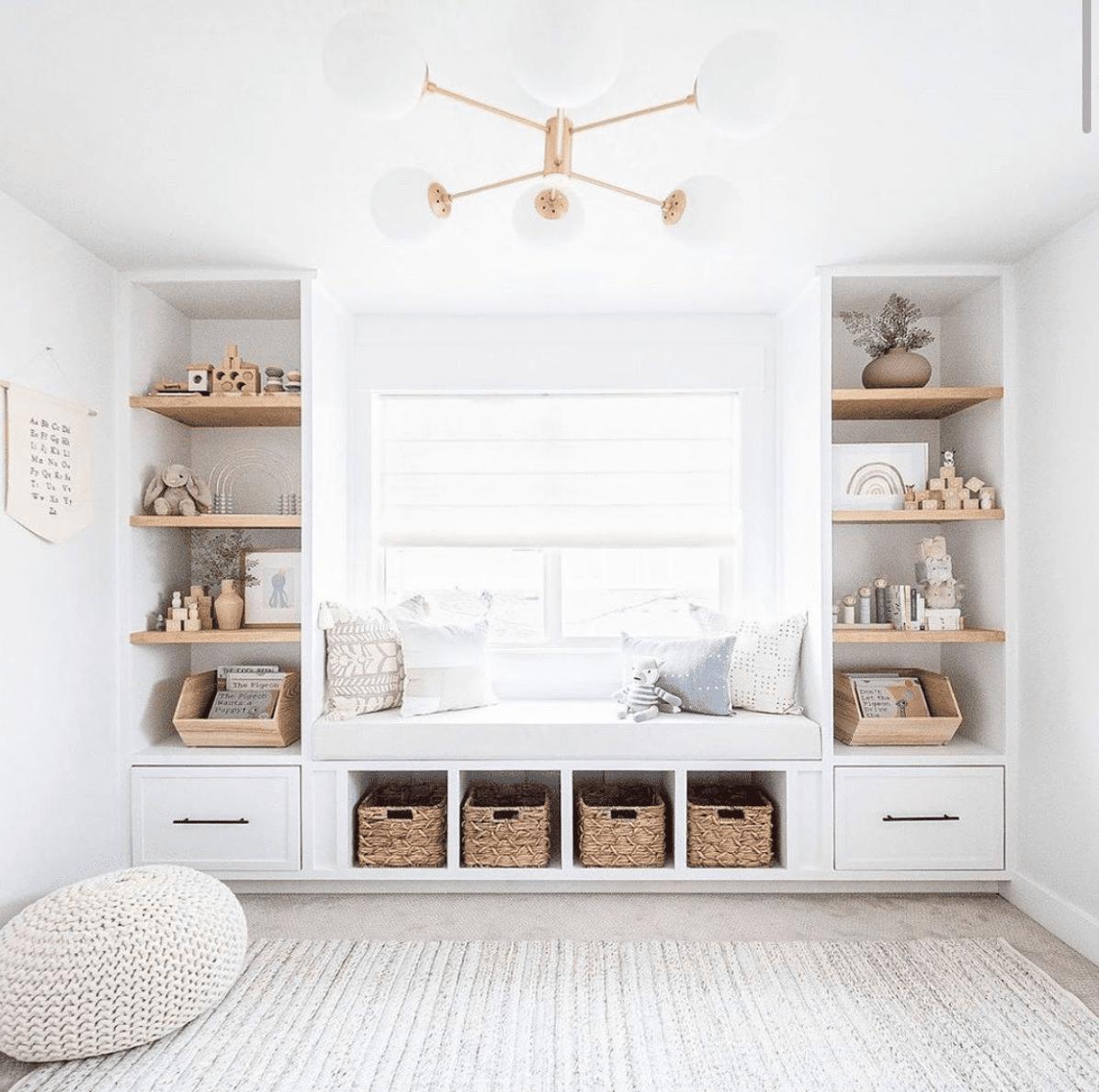 Incorporating stuffed animals into a room's decor scheme