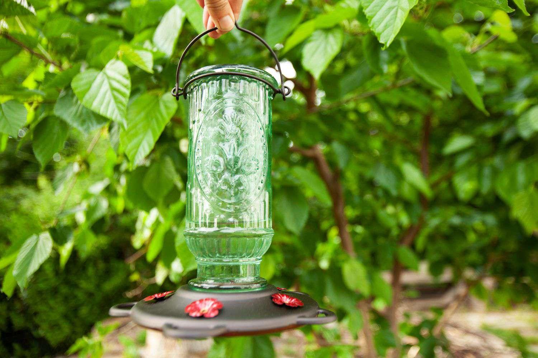 More Birds Vintage Hummingbird Feeder