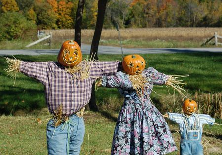 ideas for making scarecrows