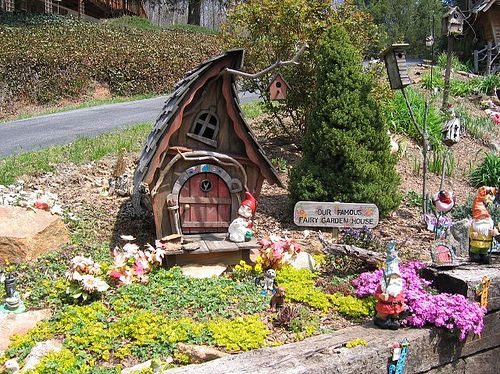 make your own fairy garden with elves gnomes and more - Fairy Garden Images
