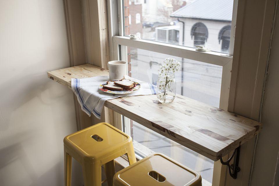 hack a cafe corner in kitchen