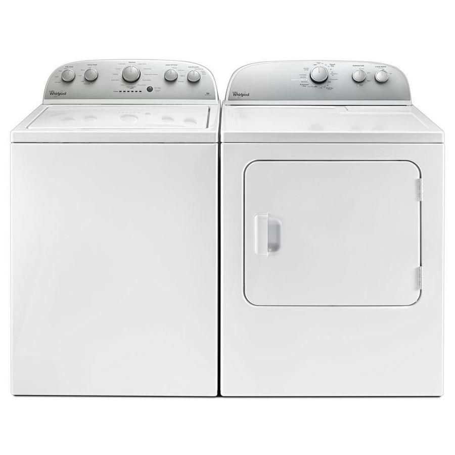 Best Energy Efficient: Whirlpool WTW4816FW Washer and WED4815EW Dryer