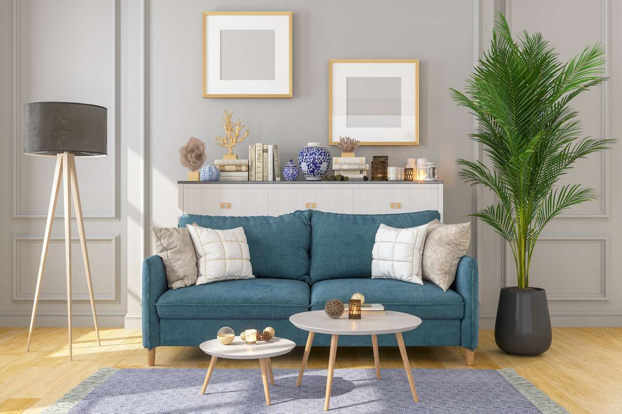 Small space sofa, living room
