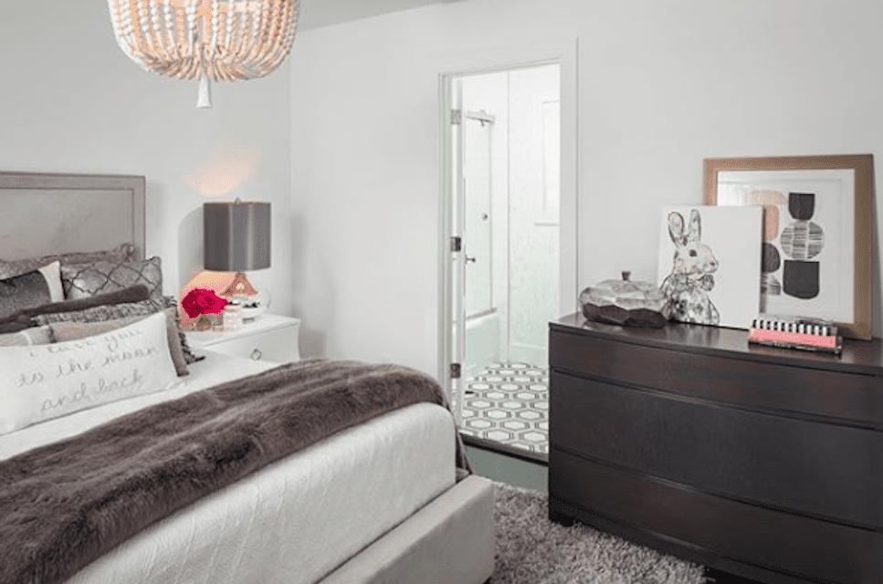dormitorio limpio
