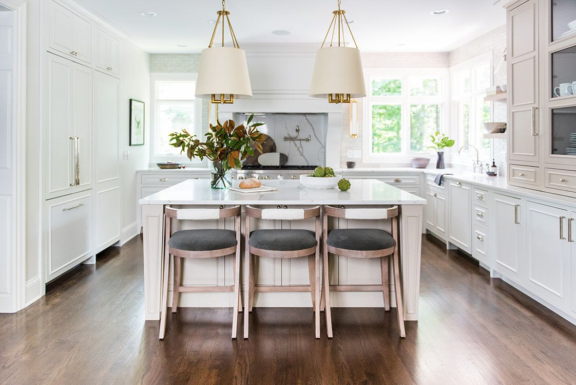 Kitchen by Whittney Parkinson Design with triangle rule