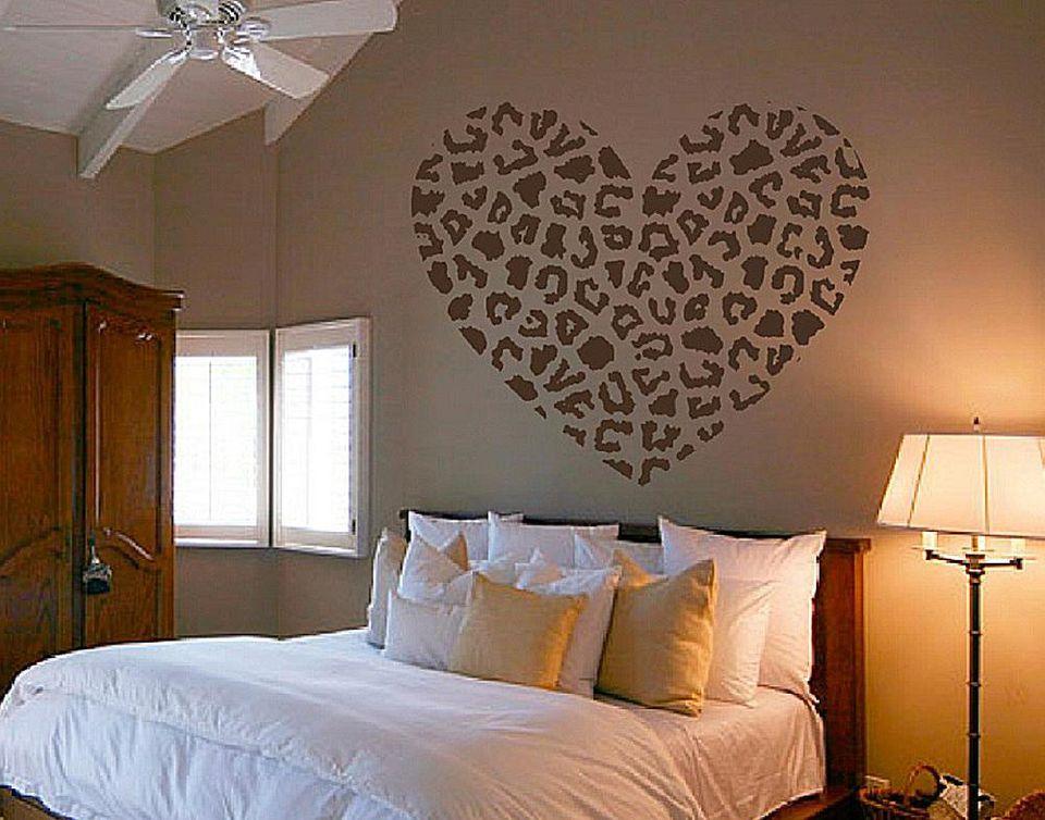 leopard print on wall